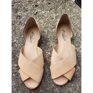 Lucky Brand Women Slip-on Sandal Nude Size 6